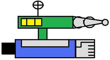 UnderFist Robot(Laser Rifle)