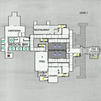 Level1 WestWing-map