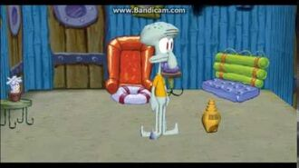 Squidward Boxing