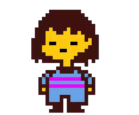 Image result for undertale protagonist