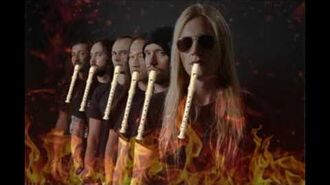 DRAGONFORCE - THROUGH THE FIRE AND THE FLAMES - SHITTYFLUTED