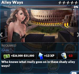 Job alley ways