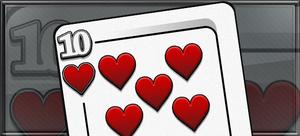 Item ten of hearts