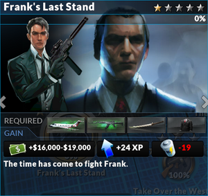 Job franks last stand
