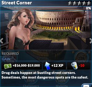 Job street corner