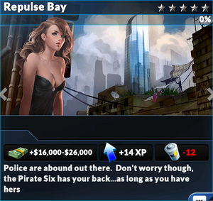 Job repulse bay
