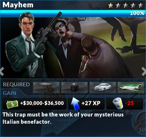 Job mayhem