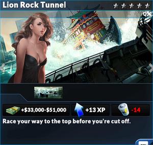 Job lion rock tunnel