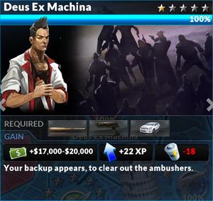 Job deus ex machina