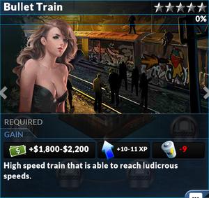 Job bullet train