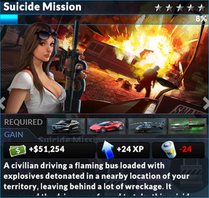 Job suicide mission
