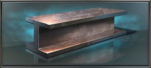 Item titanium beam