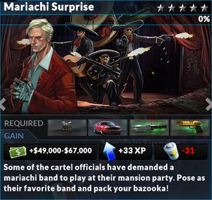 Job mariachi surprise
