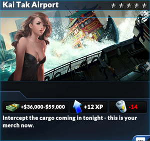 Job kai tak airport