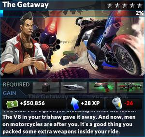 Job the getaway