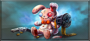 Item spooky bunny gun