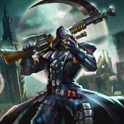 Lieutenant death ray reaper
