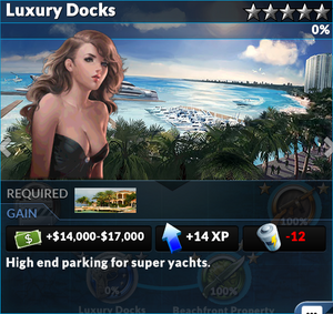 Job luxury docks