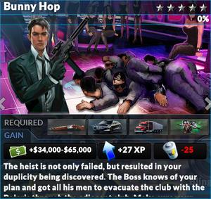 Job bunny hop