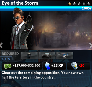 Job eye of the storm