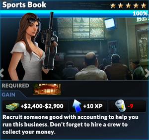 Job sports book