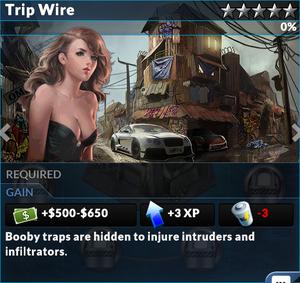 Job trip wire