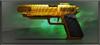 Item pistola de oro