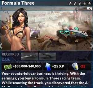 Job formula three