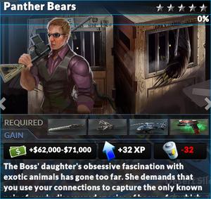 Job panther bears