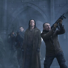 The Lycans attacking the Eastern Coven