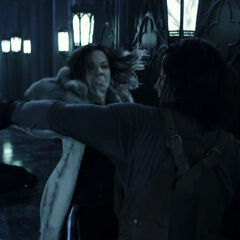 Marius fighting Selene