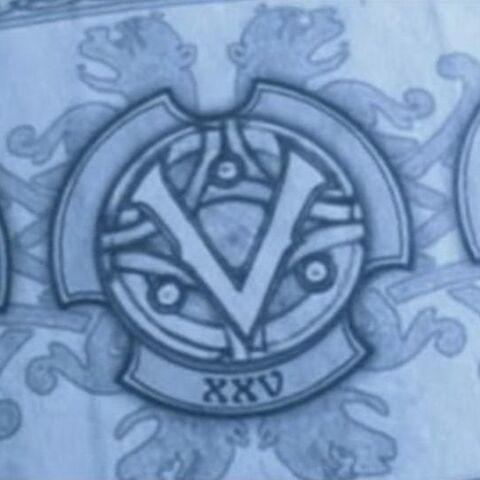 The Mark of each Vampire Elder: Amelia, Viktor and Marcus.