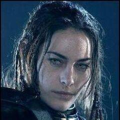 Amelia just before capturing William