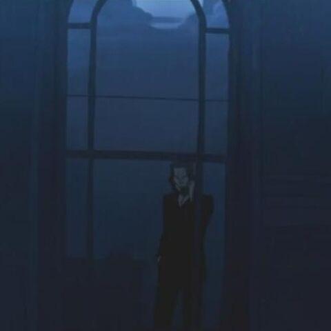 Kraven, talking on the phone in <i>Endless War</i>.