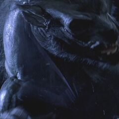 Lycans attacking the Council