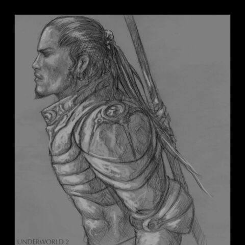 Concept artwork of a Death Dealer by <a href=