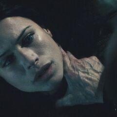 Sonja, after Viktor drank her blood.