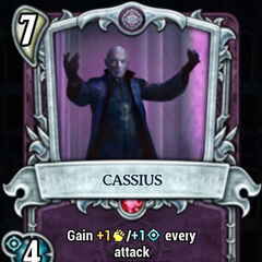 Cassius in the <i>Underworld</i> card game