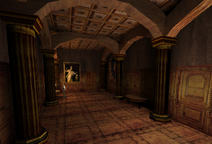 Corridor to Ambrose's Room