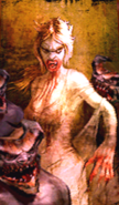 Demonic Lizbeth with Howlers portrait