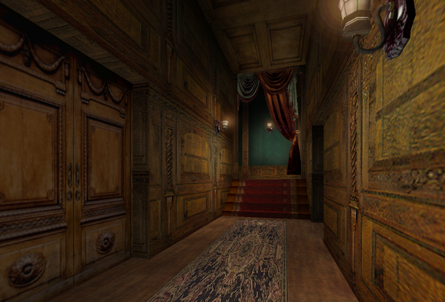 File:Corridor to Otto Keisinger's Room 1.png