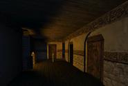 Living Quarters Corridor One Monastery Past