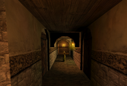 Living Quarters Corridor Two Monastery Past