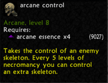 Arcane Control