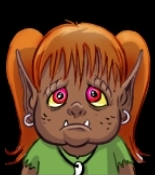 Small Orc Girl Avatar
