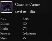 Grandizor Armor