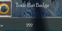 Toxic Hat Badge