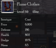 Flame Clothes