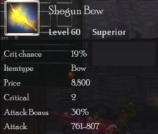 Shogun Bow