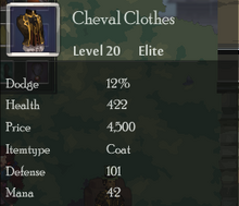 Cheval Clothes